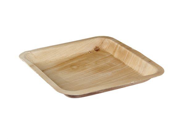 Square palmleaf plate