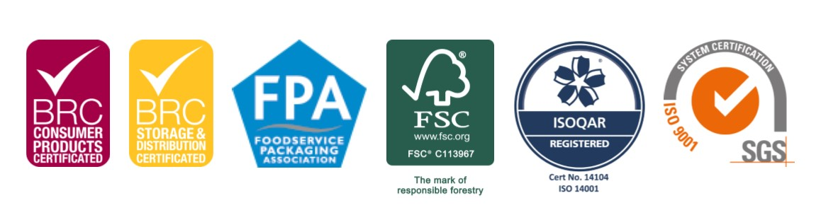 Celebration Packaging Limited's accreditations