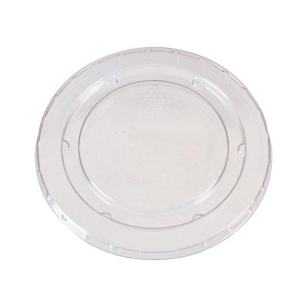 Clear PET Lid for 6oz Bagasse Portion Pot