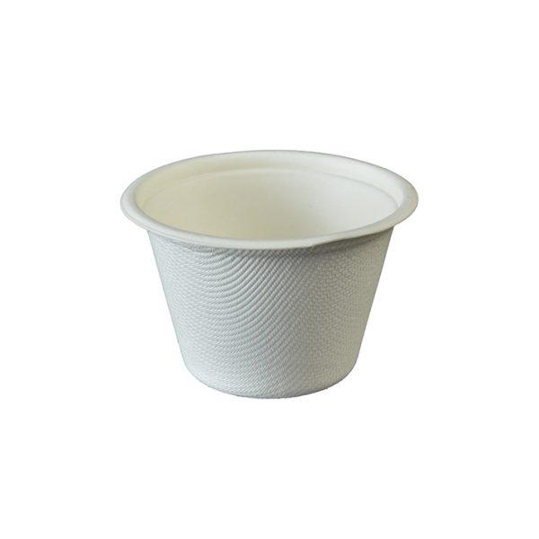 4oz bagasse portion pot