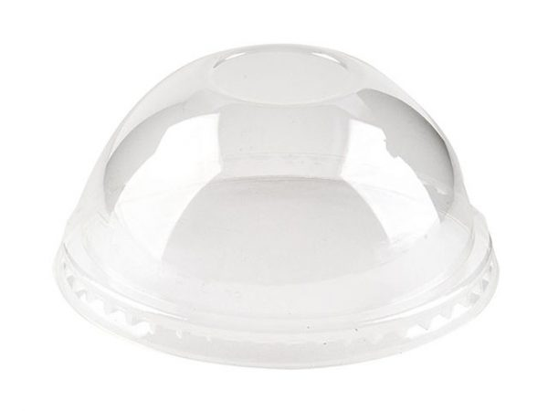 PLA Dome No Hole Lid fits 96mm Cups