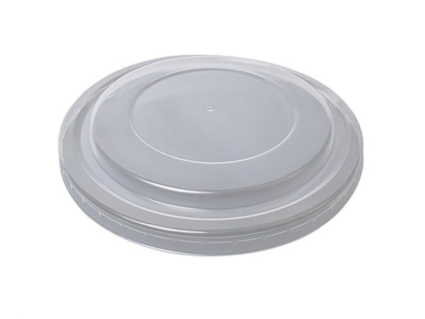 Clear plastic lid for 1300ml kraft salad container