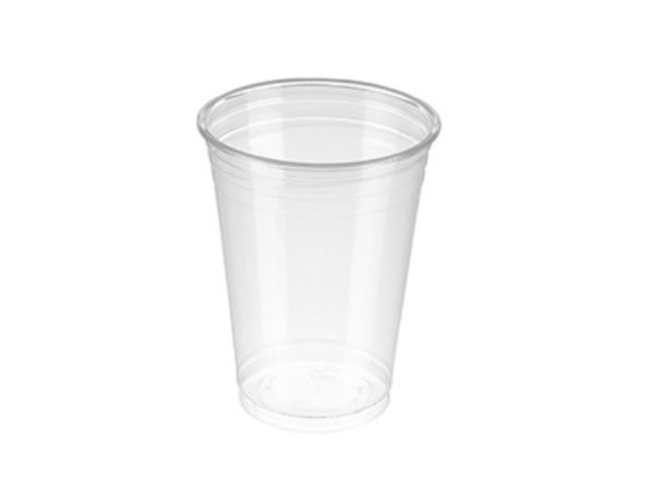 10fl oz Clear PET Plastic Cup