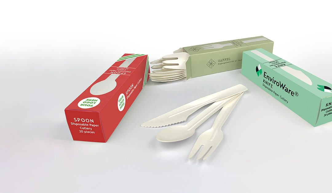 Celebration launches disposable paper cutlery retail packs