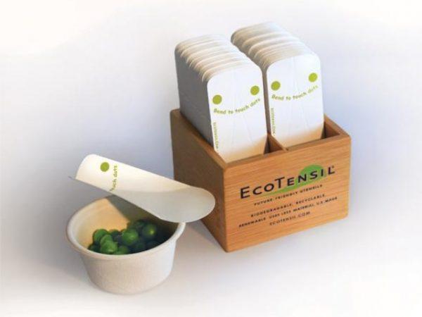 EcoTaster Bamboo Dispenser