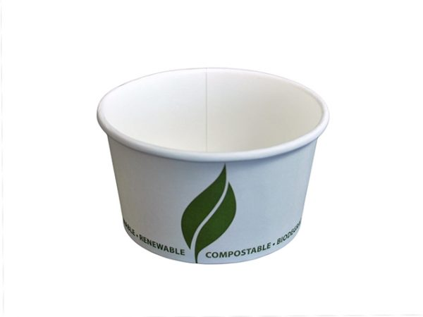 12 oz Compostable Paper Food Container