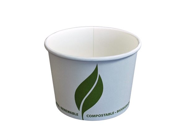 16 oz Compostable Paper Food Container