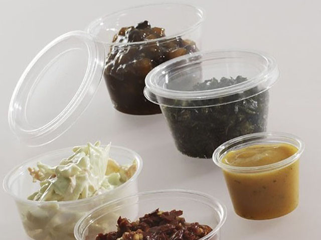 Enviroware compostable portion pots and lids