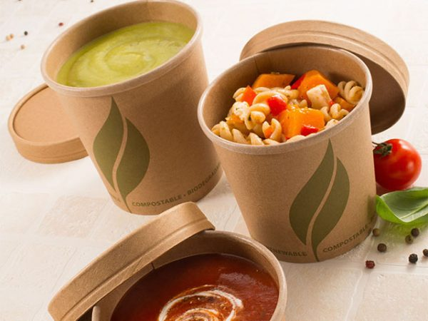 Leaf 2 Kraft Food Containers