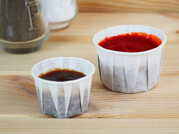 Paper Portion Pots