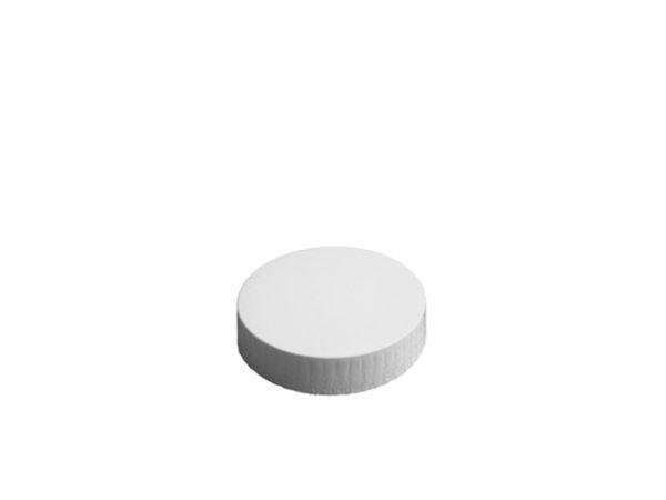 60mm Diameter White Paper Glass Cover