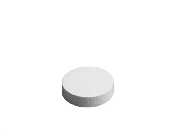 62mm Diameter White Paper Glass Cover