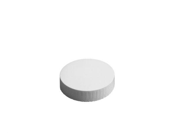 72mm Diameter White Paper Glass Cover