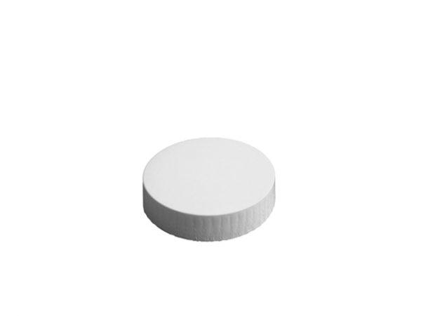 74mm Diameter White Paper Glass Cover