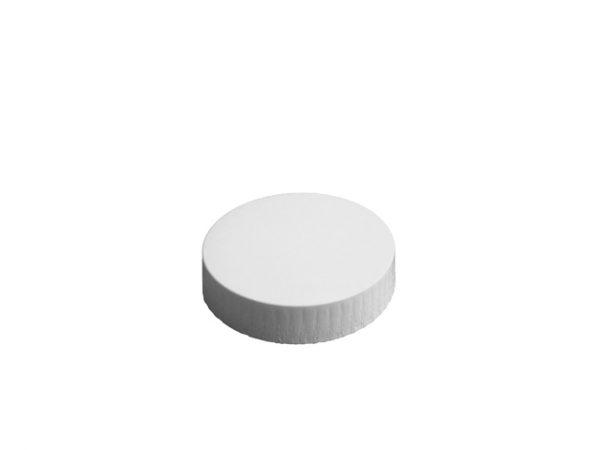 75mm Diameter White Paper Glass Cover