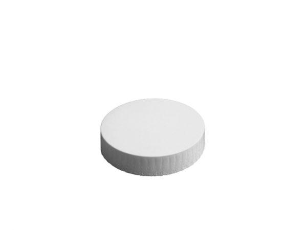 80mm Diameter White Paper Glass Cover