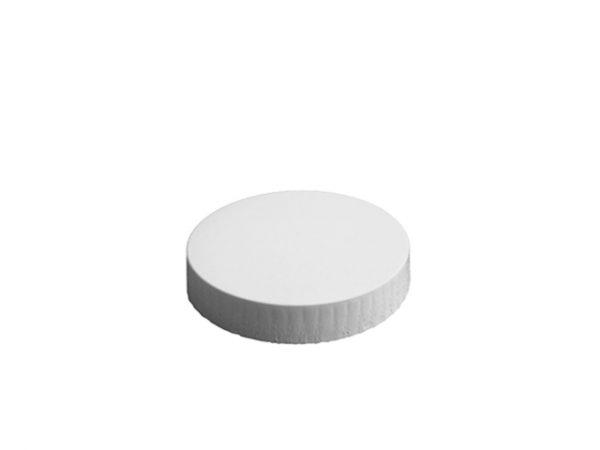 86mm Diameter White Paper Glass Cover