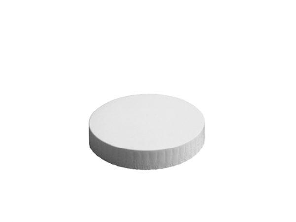 90mm Diameter White Paper Glass Cover