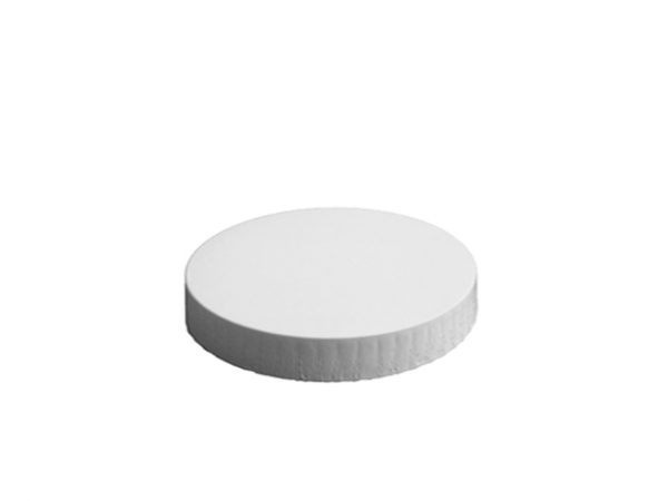 98mm Diameter White Paper Glass Cover