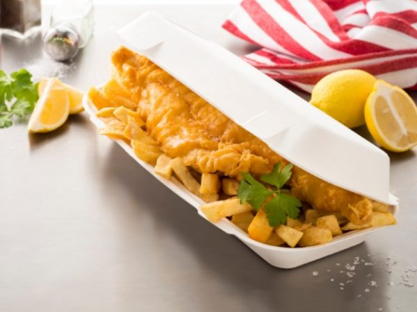 Enviroware Compostable fish & chip box
