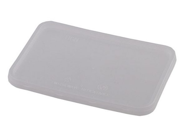 Clear Lid For Rectangular Food Tray