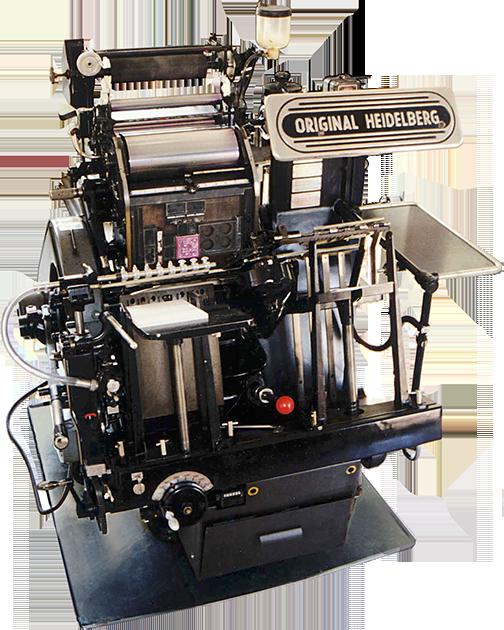 Types of printpac machine - Heidelberg
