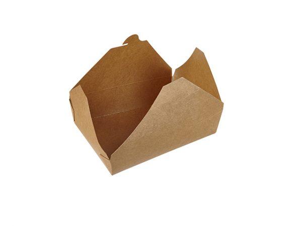 51floz Medium Kraft Food Box