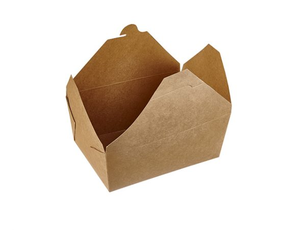 46floz Medium Deep Kraft Food Box