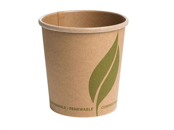 16 oz Kraft Brown Paper Food Container for Soup