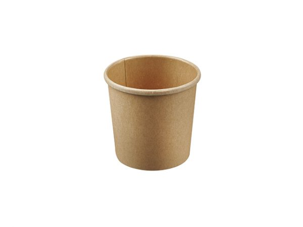 12oz Kraft Brown Compostable Soup Container