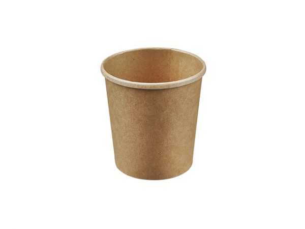 16oz Kraft Brown Compostable Soup Container