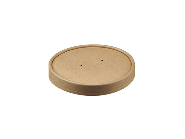 Kraft Brown Paper Lid for 26 & 32 oz Food Container