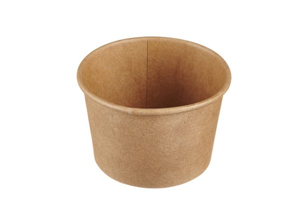 Compostable Kraft brown 4floz Portion Pot