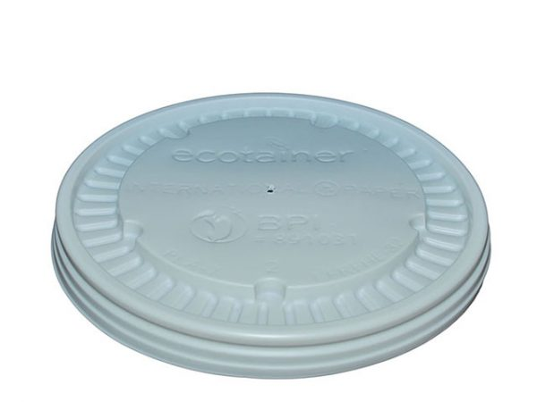 CPLA Lid to fit 16oz & 32oz Ecotainer