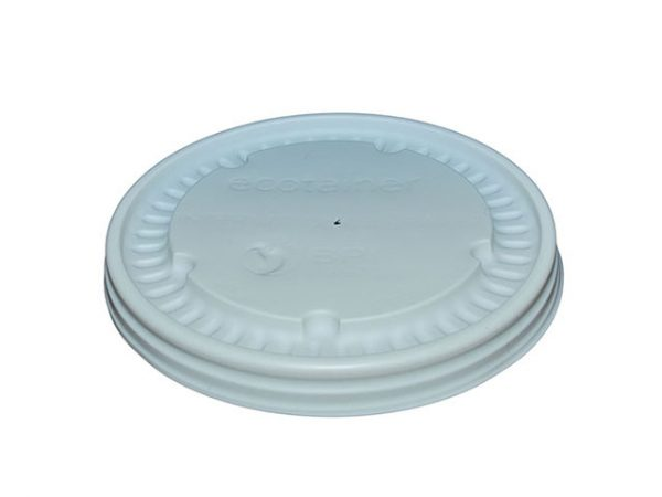 CPLA Lid to fit 8oz Ecotainers