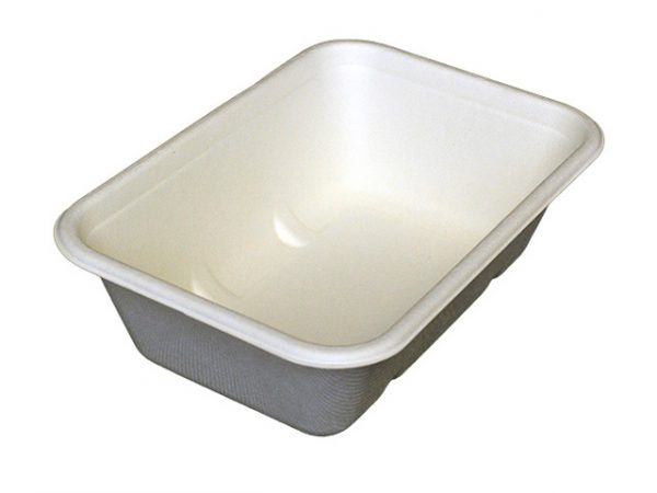 Leakproof Bagasse Tray 650ml