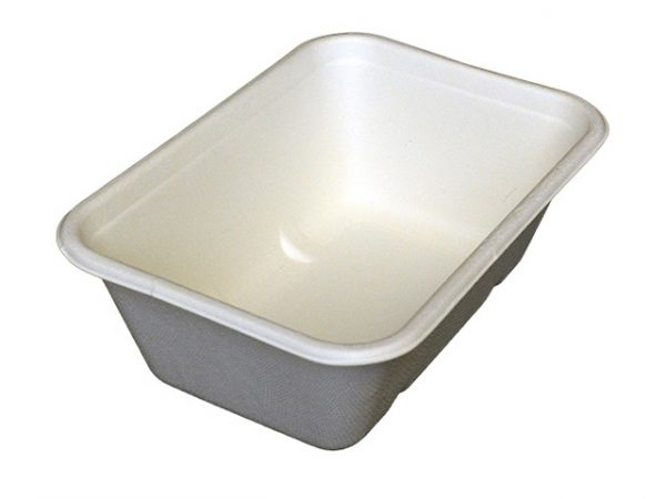 Leakproof Bagasse Tray 750ml