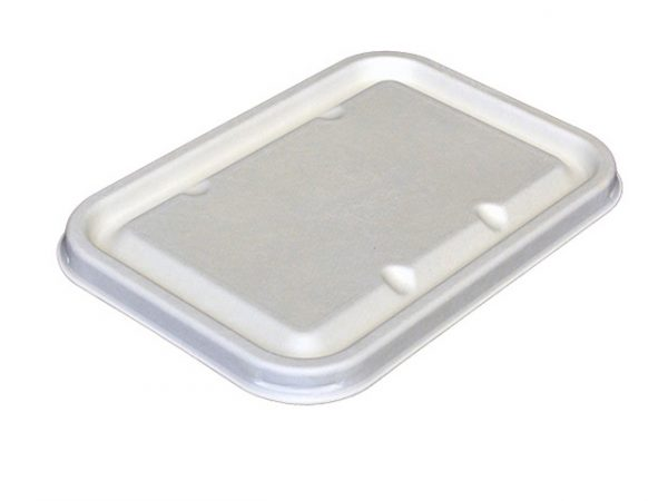 Lid for Leakproof Bagasse Tray