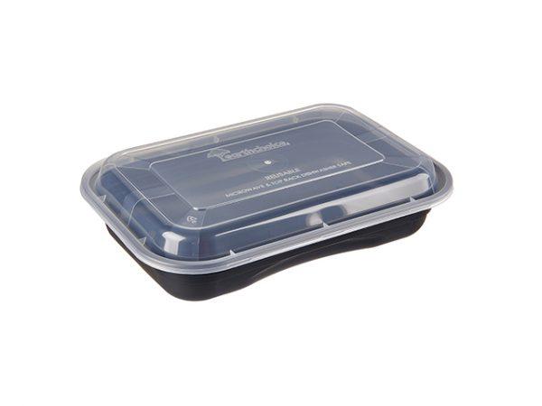 27oz reusable rectangular containers