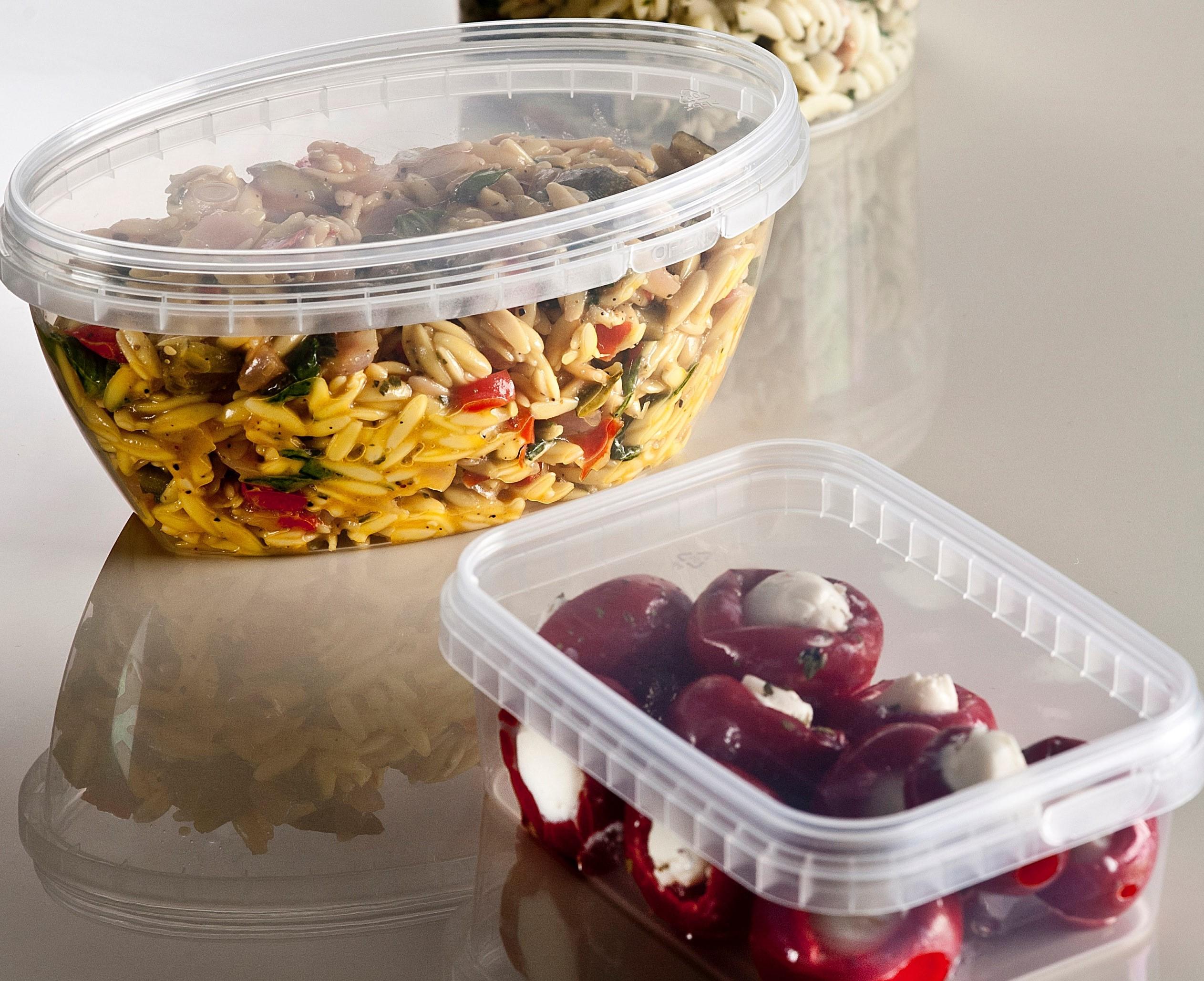 food service foodservice tamper evident food packaging