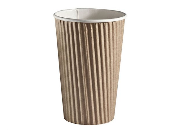 16 oz insulated ripple wrap cup detpak