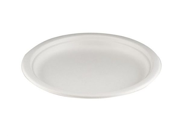 9 Inch Bagasse Dinner Plate