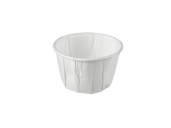 2oz Paper Portion Cups for sauces and dipping