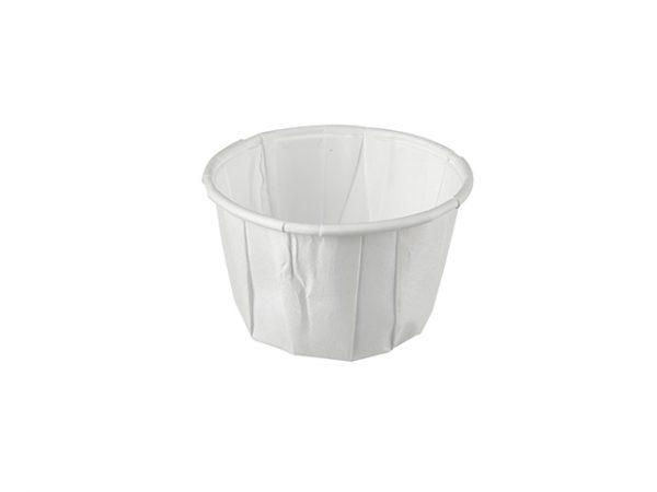 Medium 2 oz paper portion sauce pot