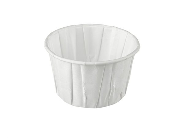 4oz Paper Portion Cups large for dipping sauces