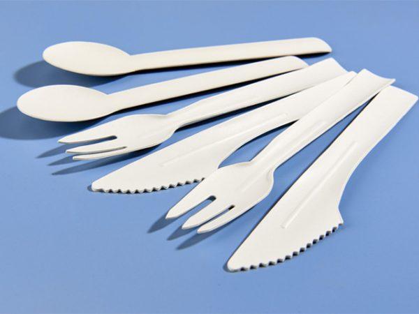 Paper cutlery knife fork spoon