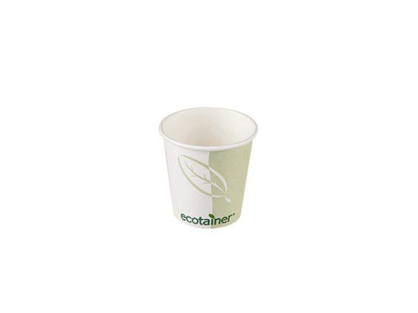 Ecotainer small 4 oz espresso paper cup