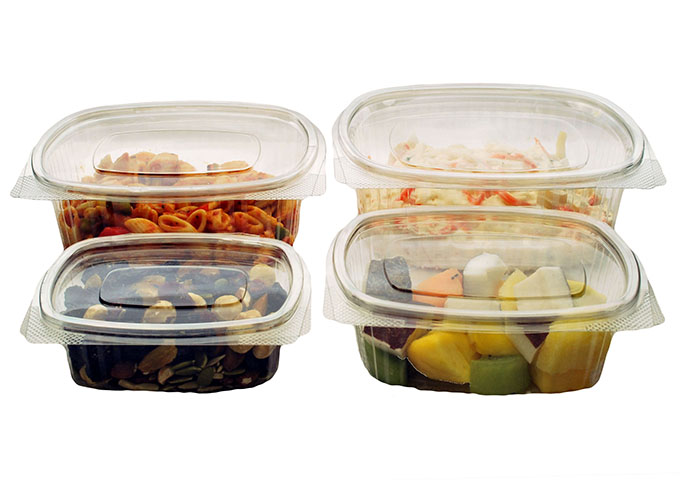 SolutionWare rPET salad containers