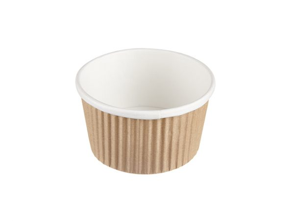 8 oz Ripple Wrap Soup Food Container