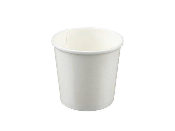 White 26oz Paper Soup Containers